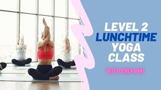 30 min lunchtime energizing yoga