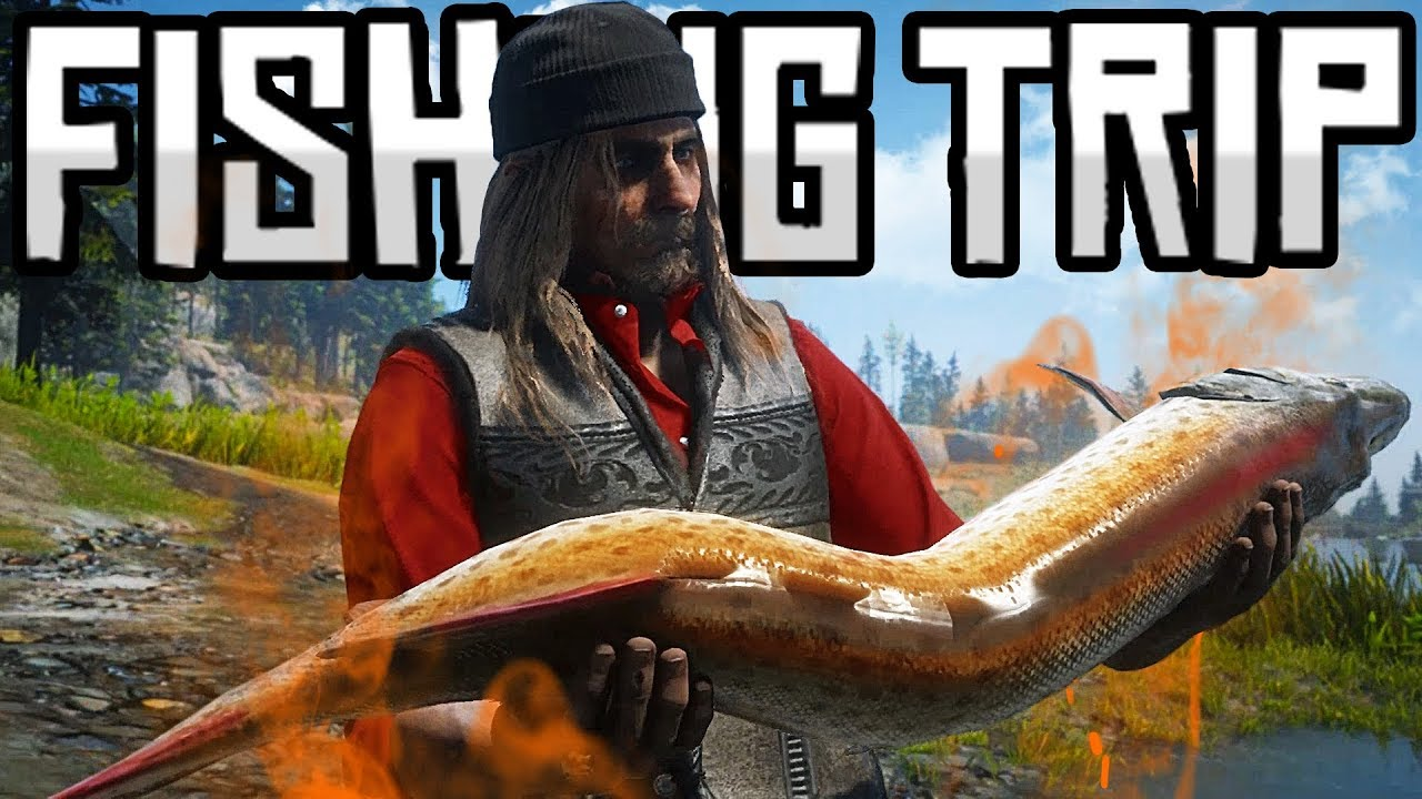 Red Dead Redemption 2 | Online | WE GO ON A FISHING TRIP!! (PC)