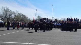 Парад Победы в Минусинске.  9 мая 2019