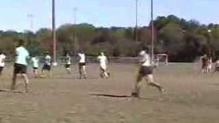 Staci playing on the Univ. of Texas Women's Frisbee Team Thumbnail