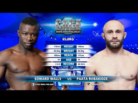 CAGE45Edward Walls Vs Paata Robakidze Full Fight MMA