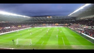 Swansea vs. Crystal Palace 2014 | PalaceFanTV