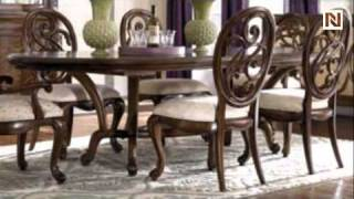Jessica Mcclintock Couture Collection Renaissance Dining Table 908-744r By American Drew