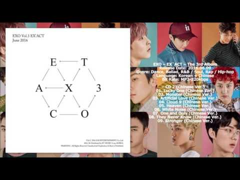 [MP3/DL] EXO - Artificial Love (Chinese Version) [EX'ACT - The 3rd Album]