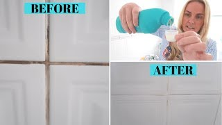 How to clean dirty grout lines the SAFE way! Toni Interior
