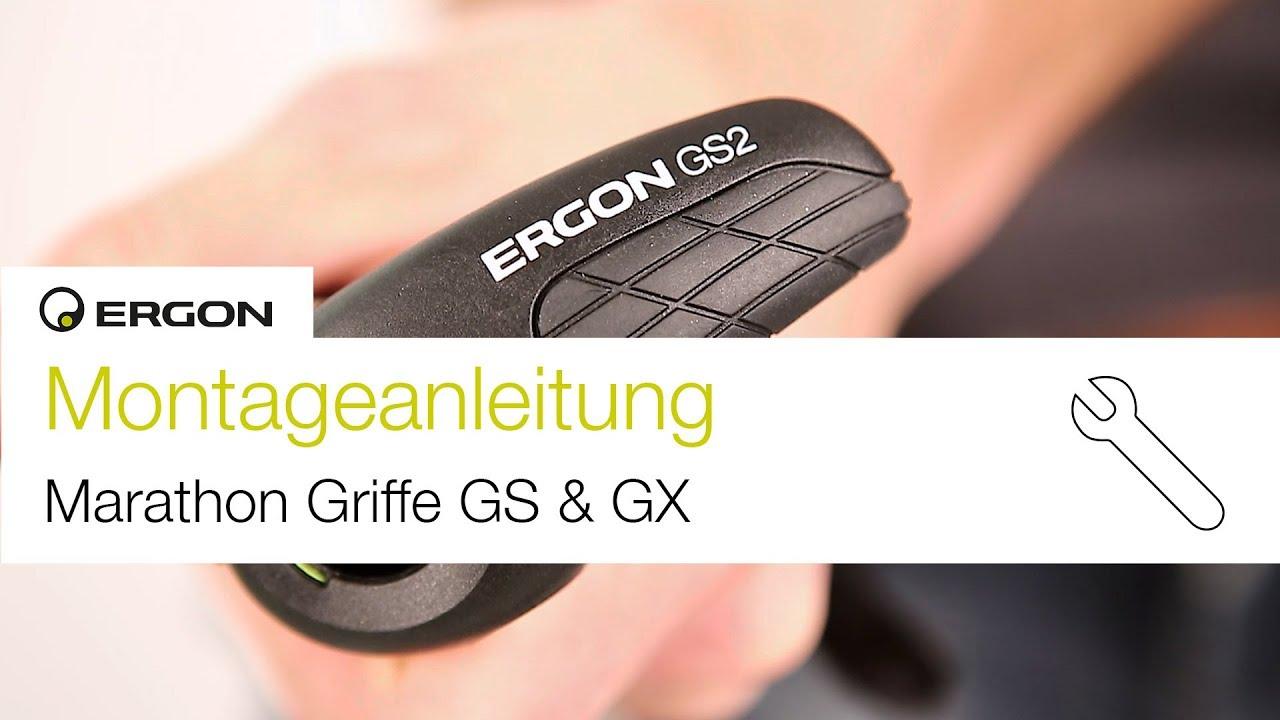 Montageanleitung Ergon Marathon Griffe GS und GX Series