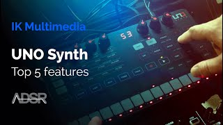 IK Multimedia UNO Synth - Top 5 Features