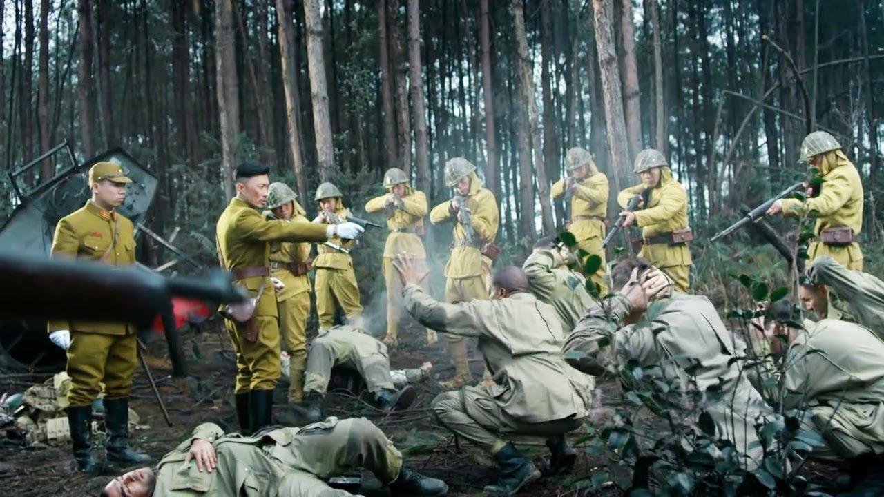 轟炸機墜落日軍後方,美軍小隊緊急潛入銷毀機密情報,不料進入日軍埋伏!