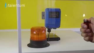 Talentum IR3 flame detector sees through glass