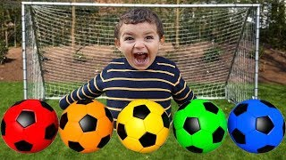 kids play with Soccer Ball  for Kid Children