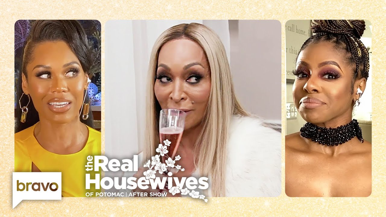 Was Karen Trying to Set up Monique and Candiace by Inviting Them Both | RHOP After Show (S5 Ep18)