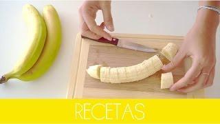 RECETAS   Helado saludable 100% natural