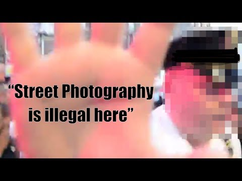 London Security Guards Do NOT Like STREET PHOTOGRAPHY
