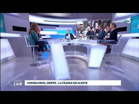 Coronavirus, grippe: la France en alerte #cdanslair 01.02.2020