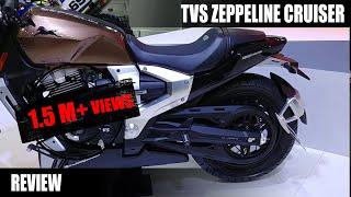 TVS Zeppelin Cruiser Concept Review in Hindi | Auto Expo 2018 | MotorOctane