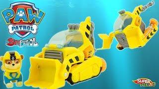 Pat Patrouille Sea Patrol Sauvetage en Mer Sous Marin Ruben Paw Patrol Jouet Toy Review Kids