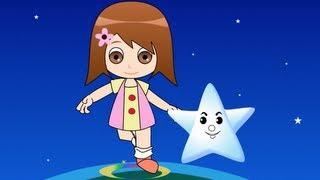 Twinkle Twinkle Little Star with Lyrics - Kids Songs Nursery Rhymes by EFlashApps