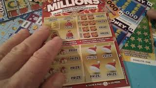 New Big £50.00 Scratchcard game..New Monopoly..Merry Millions..New £100.000 yellow.etc