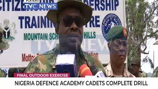 Nigeria Defence Academy cadets Complete drill