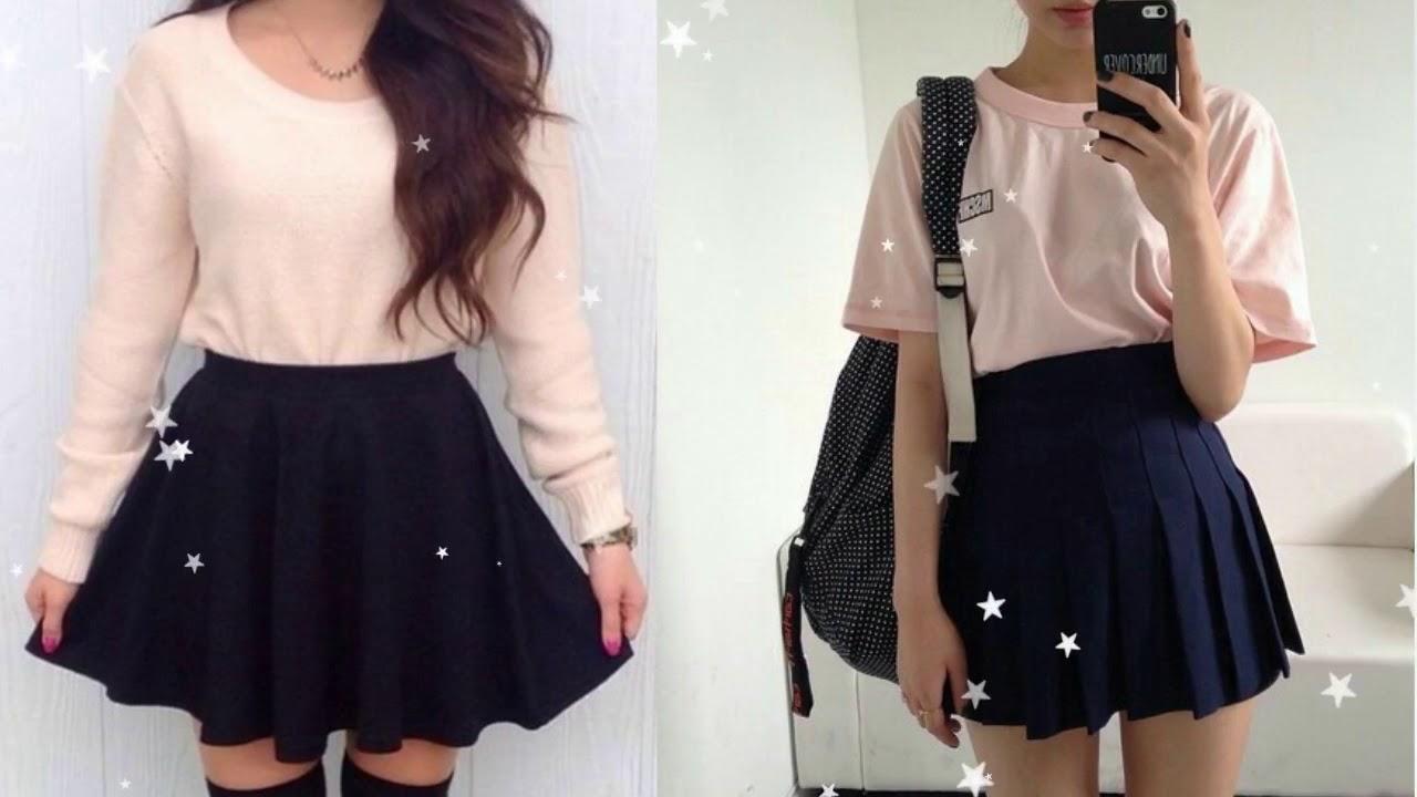 Skirt Outfit Ideas Tumblr