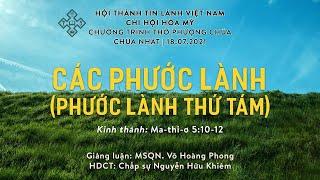 HTTL HÒA MỸ - Chương Trình Thờ Phượng Chúa - 18/07/2021