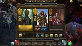 Drakensang Online - Gameplay inf 3 solo + inf 2  group