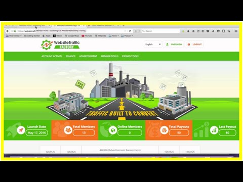 Website Traffic Factory Overview – WTF Rev Share – Website Traffic Factory Rev Share