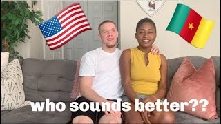SOUTHERN AMERICAN V.S. CAMEROONIAN | ACCENT TAG!!