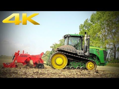 Выбрал б/у гусеничный трактор John Deere 9460RT, вместо двух новых Кировцев. Уборочная 2019