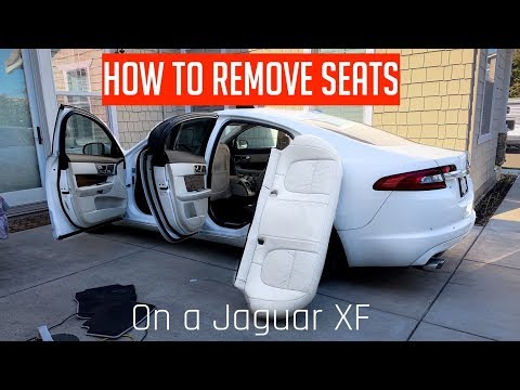 How To Remove Seats On A Jaguar XF