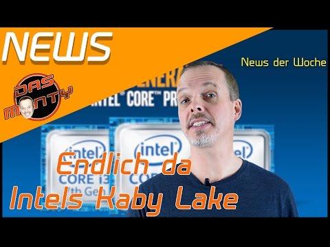 Intel Kaby Lake ist endlich da ;) Was kann die neue CPU von Intel ? - Das Monty - Deutsch