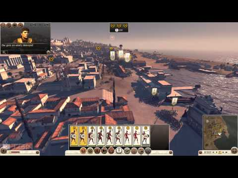 Total War Rome 2 Carthage Campaign Part 6 Libya the Meat Shield