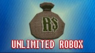 HOW TO GET UNLIMITED ROBUX ON ROBLOX 2016