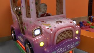 Little Babies Playing The Wheels on The Bus  Baby Nursery Rhymes Song