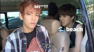 لحظات مضحكه مع فرقة BTS الجزء الثالث