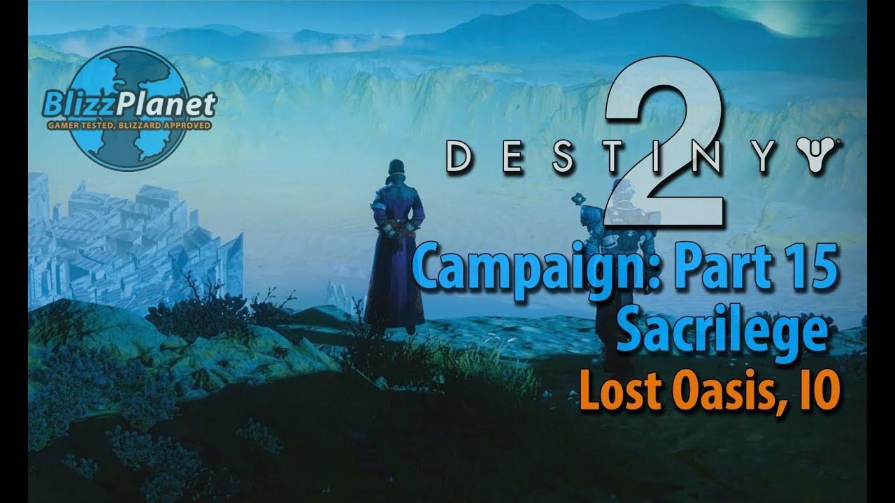 lost oasis destiny 2