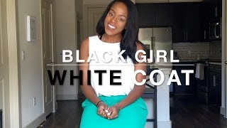And So The Journey Begins |  Vlog #1 - Black Girl, White Coat