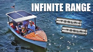 Solar Powered Electric Boat!! (Part 2)