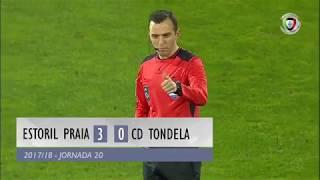 Video Gol Pertandingan Estoril Praia vs Tondela