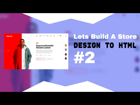 How To Turn A Design To HTML Tutorial
