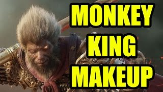 MONKEY KING MAKE UP TUTORIAL!!!  - COSPLAY FADOODLES AND ANIME RANTS