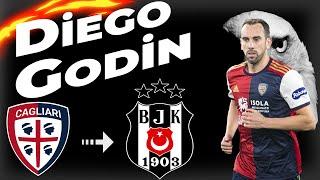 """Diego Godin Beşiktaşta """" Beşiktaş'a Hoşgeldin ! """" Defending Skills & Goals 2021 -HD-"""