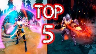 Dota 2 - TOP 5 Unofficial Mods (Sets)! #3