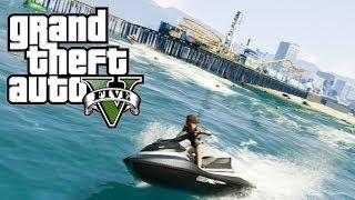 GTA 5 Online NGAKAK ABIS! (1) Perang di Pantai!! HAHAHA