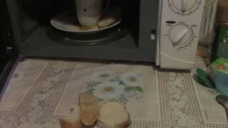 Проверил на Себе!!!Реанимировать Хлеб в микроволновке...