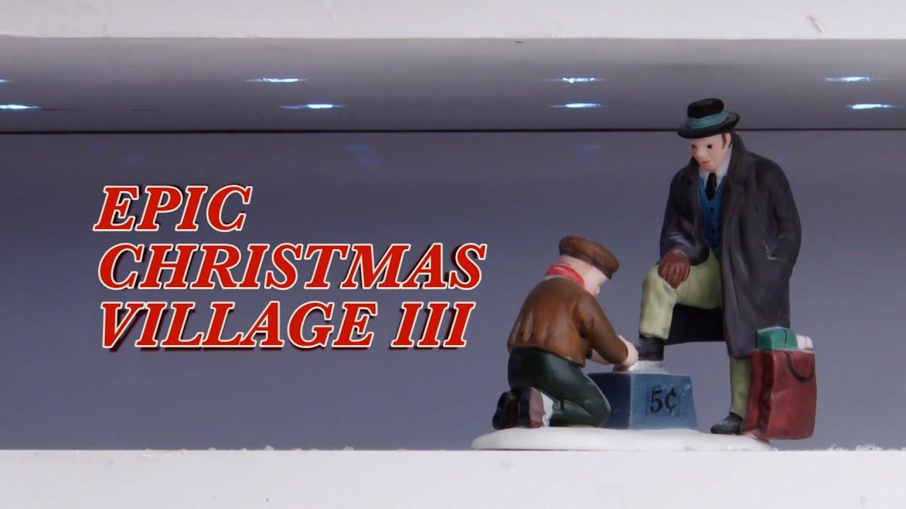 Department 56 Christmas Village Display.Epic Christmas Village Iii
