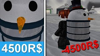 THE MOST EXPENSIVE BACKPACK BOUGHT! (ROBLOX SNOW SHOVELING SIMULATER)