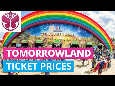 TOMORROWLAND 2019 Ticket & Dreamville Package Prices