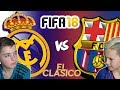 REAL MADRID VS BARCELONA EL CLASICO 2017 FIFA 18 EDITION mp3
