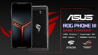 Asus Rog Phone 3 price in India | launch date | Specs - 64MP camera, Sd 865 | Google stadia